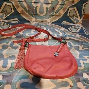 Lucky Brand pink/red crossbody purse